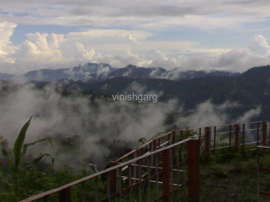 Cloudy Shimla
