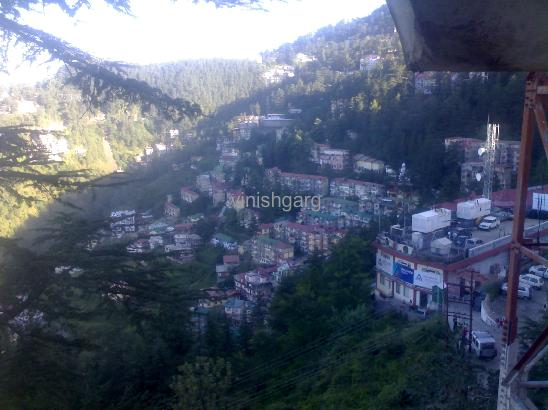 Shimla - sun and shade